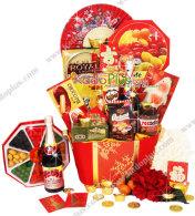 parcel imlek, parsek imlek, chinese new year hamper jakarta, chinese new year hamper indonesia, lunar new year gift basket, toko parcel imlek
