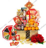 parcel imlek, parsel imlek, chinese new year hamper jakarta, chinese new year hamper indonesia, lunar new year gift basket, toko parcel imlek, parcel keramik imlek