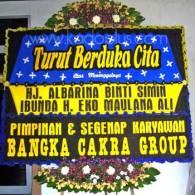 Bunga Papan Bangka Belitung Duka Cita
