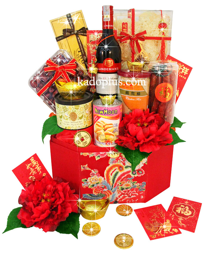 Chinese New Year Hamper Prosperous Treats 3 Toko Bunga Online