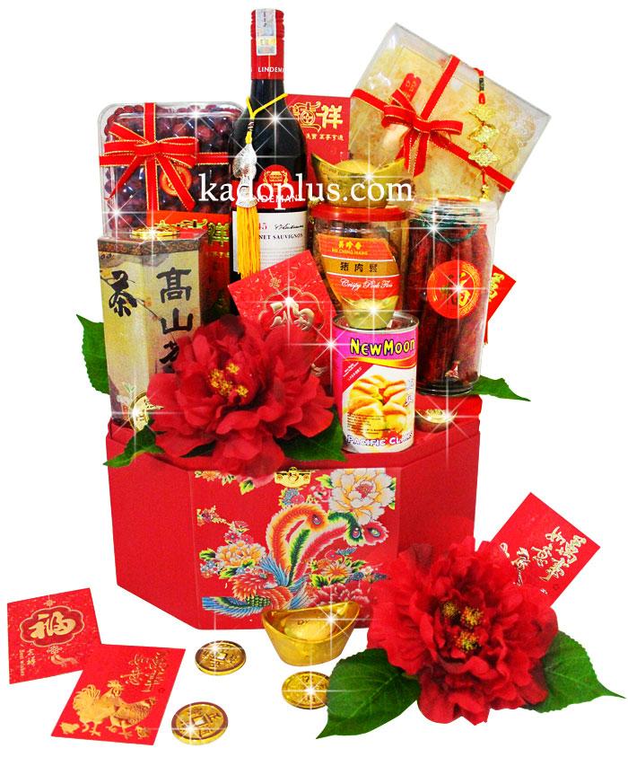 Chinese New Year Hamper Prosperous Treats 2 Toko Bunga Online
