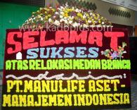 Bunga Papan Medan Congratulations