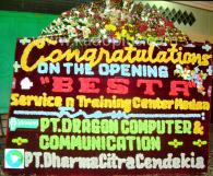 Bunga Papan Medan Congratulations 2