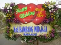 Bunga Papan Malang Wedding