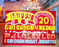 Bunga Papan Medan Anniversary
