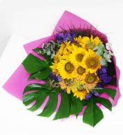 buket-bunga-matahari-kadoplus