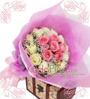 toko bunga jakarta, bunga valentine, buket bunga