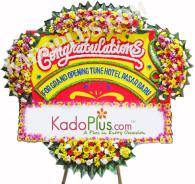 Bunga Papan Congratulation Deluxe 8 (150x200cm) Bunga papan tersedia dalam banyak ukuran dan model untuk berbagai acara. Call us: 021-70562700. SMS/ Whatsapp: 08179170062 BB Pin: 2A57E06D GRATIS ongkos kirim untuk wilayah Jakarta. Proses cepat, langsung kirim. Hubungi kami sekarang juga.