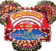 bunga papan congratulations, bunga papan selamat & sukses, toko bunga papan jakarta, bunga papan bekasi, bunga papan tangerang, bunga papan depok, flower board to Indonesia