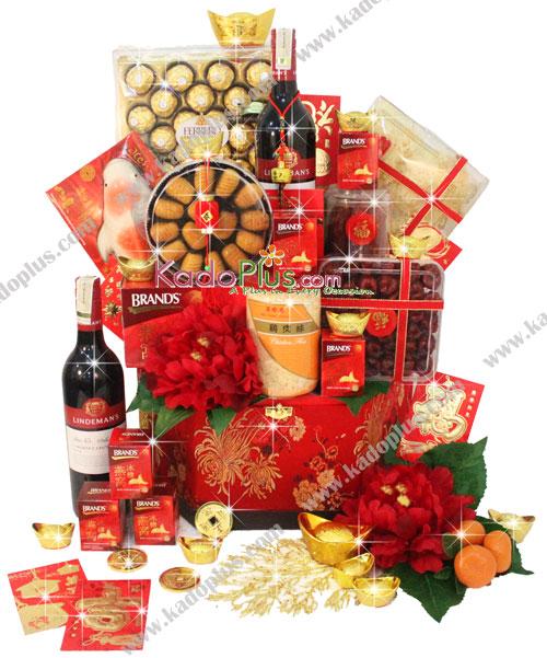 lunar new year gift basket Archives Toko Bunga Online Florist