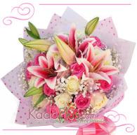 bunga valentine, buket bunga, florist jakarta, toko bunga jakarta