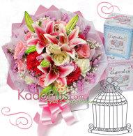 florist jakarta, toko bunga jakarta, bunga valentine, buket bunga