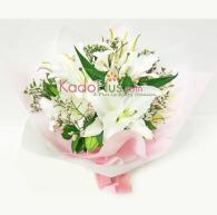 florist-jakarta-shiny-lilies