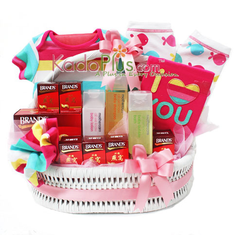 Parcel bayi birdnest mothercare hadiah kelahiran kadoplus by toko bunga gift florist negle Image collections