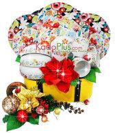 parcel natal, parcel natal jakarta, toko parcel, toko parcel natal, christmas hamper, christmas gift basket, christmas hamper jakarta indonesia, Parcel Natal Keramik Dinner Set