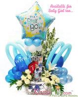 Rangkaian Bunga & Balon: Balloons & More 8  By Toko Bunga & Gift/ Florist Jakarta Kadoplus.com