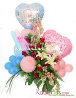 Rangkaian Bunga & Balon: Balloons & More 7  By Toko Bunga & Gift/ Florist Jakarta Kadoplus.com