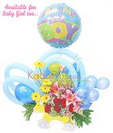 Rangkaian Bunga & Balon: Balloons & More 5  By Toko Bunga & Gift/ Florist Jakarta Kadoplus.com
