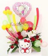 Rangkaian Bunga & Balon: Balloons & More 3  By Toko Bunga & Gift/ Florist Jakarta Kadoplus.com