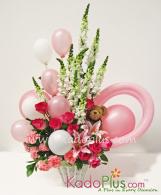 Rangkaian Bunga & Balon: Balloons & More 4  By Toko Bunga & Gift/ Florist Jakarta Kadoplus.com