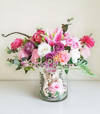 Artificial Arrangement  Sweet Belle - Toko Bunga Online - Florist ... 5b3f7c5177