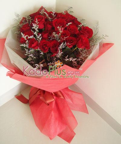 Toko Bunga Valentine Di Jakarta