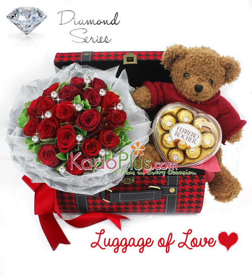 Luggage of Love - Toko Bunga Online - Florist - Parcel - Bunga Papan ... 9833245d82